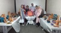Burhaniye'de Seramik Kursunu Bitiren Kadınlara Sertifikaları Verildi