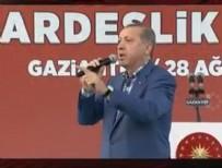 GAZİANTEP HAVALİMANI - Cumhurbaşkanı Erdoğan acı haberi Gaziantep'de verdi