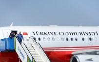GAZİANTEP HAVALİMANI - Cumhurbaşkanı Erdoğan, 'Birlik, Beraberlik ve Kardeşlik Mitingi'ne katılacak