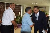 KANALİZASYON ÇALIŞMASI - Genel Müdür Coşkun Muhtarları Ağırladı