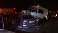 DİKKATSİZLİK - İstanbul'da Zincirleme Kaza Açıklaması 6 Yaralı