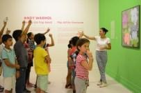 İLKOKUL ÖĞRENCİSİ - Muratpaşalı Çocuklar Andy Warhol Gibi Çizdi
