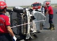 HARRAN ÜNIVERSITESI - Şanlıurfa'da Trafik Kazası Açıklaması 3 Yaralı