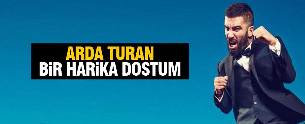 Arda'dan teşekkür mesajı