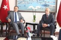 AHMET ALTIPARMAK - İtalya Ankara Büyükelçisi'nden Denizli Valisi Altıparmak'a Ziyaret