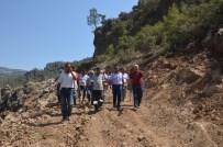 MAHMUT YıLMAZ - Mahalleler Orman Yoluyla Birleşiyor