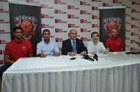 SAĞLIK TARAMASI - Özel Ümit Hastanesi Eskişehir Basket'e Sponsor Oldu