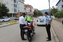 GÜRÜLTÜ KİRLİLİĞİ - Şehir Merkezinde Trafik Denetimleri Sıklaştırıldı
