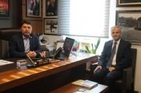 NUSRET DIRIM - Vali Dirim'den Milletvekili Tunç'a TBMM'de Ziyaret