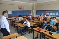NECDET AKSOY - Başkan Aksoyü, Yaz Okulu Kur'an Kurslarını Ziyaret Etti