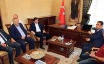 NUSRET DIRIM - Başkan Mustafa Ak, Keçiören'in Yeni Kaymakamını Ziyaret Etti.