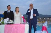 AHMET ZENGİN - Başkan Yaman, Genç Çiftin Nikahını Kıydı