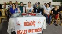 HASTA HAKLARI - Bigadiç'te Demokrasi Nöbetinde Sağlık Standı