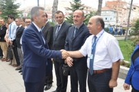 KÖKSAL ŞAKALAR - Bilecik Valisi Süleyman Elban, Bozüyük'e İlk Resmi Ziyaretini Yaptı