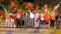 Burhaniye'de Demokrasi Nöbeti Coşkusu