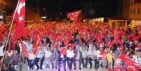 Düzköy'de Demokrasi Mitingi Düzenlendi