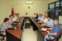 MUHARREM TOZAN - İl Özel İdaresi Şube Müdürleri Toplantısı Yapıldı