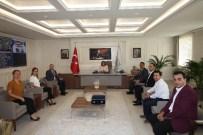 TRAFİK SORUNU - İnşaat Mühendisleri Büyükşehir Belediye Başkanı Fatma Şahin İle Bir Araya Geldi