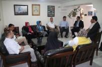 FATIH SEVINÇ - İran'da Bulunan DAKA Ve VAHATÜDER Heyeti Türkiye'nin Tebriz Başkonsolosluğunu Ziyaret Etti