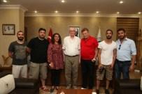 NURİ ALÇO - Nuri Alço Odunpazarı Belediyesi'ni Ziyaret Etti