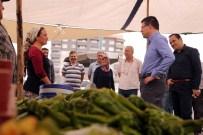 OTOPARK SORUNU - Şemlikler'de Yapılan Pazaryeri  Hizmete Açıldı