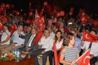 YıLMAZ ŞIMŞEK - Vali Çiçek, Dalaman'da Demokrasi Nöbetine Katıldı