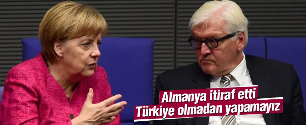 Almanya'dan Türkiye itirafı