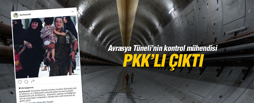 Avrasya Tüneli'nde çalışan mühendis terör sempatizanı çıktı