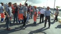 BELEDIYE İŞ - Belediye Önünde Protesto