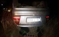 Eşeğe Çarpan Otomobil Takla Attı Açıklaması 1 Ölü, 1 Yaralı