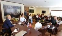 PORTRE - Genç Denizli'den Başkan Zolan'a Ziyaret