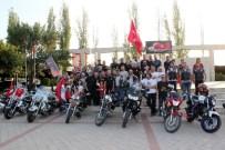 KURUDERE - Manisa'da Motorculardan Zafer Turu