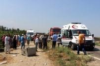 MEHMET CAN - Manisa'da Trafik Kazası Açıklaması 1 Ölü, 1'İ Ağır 3 Yaralı