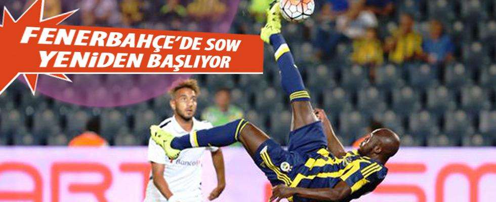 Moussa Sow tekrar Fenerbahçe'de