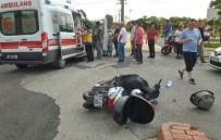 KANDILLI - Otomobil Motosikletle Çarpıştı Açıklaması 1 Yaralı