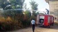 DEMİRYOLLARI - Patlayan Trafodan Yangın Çıktı
