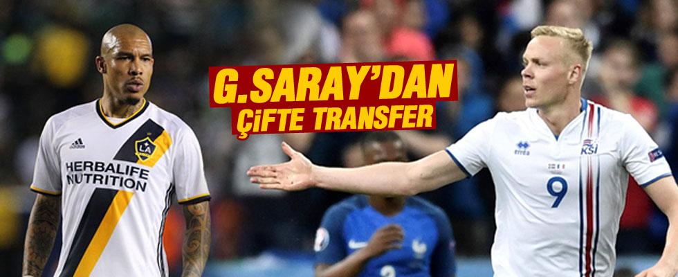 Sigthorsson ve De Jong Galatasaray'da.