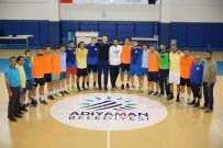 İZMIRSPOR - Adıyaman Belediyesi Hentbol Takımı Türkiye Kupası Müsabakalarına Hazır