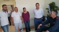 EMRAH ÖZDEMİR - Ak Partiden, Halisdemir'in Babasına Geçmiş Olsun Ziyareti