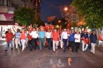 BÜYÜK TAARRUZ - Alyanya'da Zafer Bayramı Fener Alayı İle Kutlandı