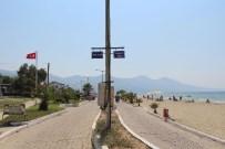 GÜZELÇAMLı - Davutlar Ve Güzelçamlı'daki Bisiklet Ve Yaya Yoluna Düzenleme