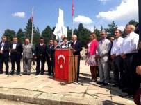 30 AĞUSTOS ZAFER BAYRAMı - Tepebaşı Belediyesi, Dumlupınar'da Kılıçdaroğlu'na Eşlik Etti