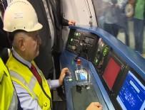 MELİH GÖKÇEK - Yıldırım, Keçirören Metrosu'nda test sürüşü yaptı