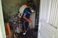 EMNİYET TEŞKİLATI - Zonguldak'ta Tespit Edilen Çöp Ev İlaçlandı