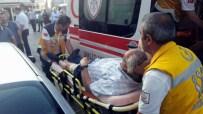 OTOPARK GÖREVLİSİ - Bıçaklı Otopark Görevlisi Dehşet Saçtı
