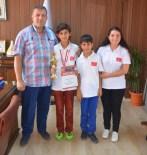 AKARCA - CZECH 2016 Dünya Mangala Turnuvası'nda Dereceye Giren Öğrenciler Koca'yı Ziyaret Etti