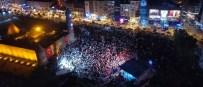 2010 YıLı - Erzurum'un Kalbi Yakutiye Kent Meydanında Attı