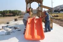 CUNDA ADASı - Gencer 'Ayvalık'ın Dört Bir Köşesine Bir Ayda 20 Çocuk Parkı Yapacağız'