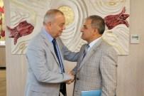 HALIL MEMIŞ - Gölmarmara'dan Başkan Ergün'e Ziyaret