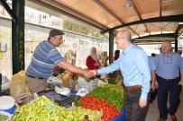 AHMET ÖZEN - Pazarcı Esnafı Altıeylül'den Memnun